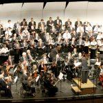 The 140-member chorus.