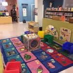The early literacy corner at Melrose.