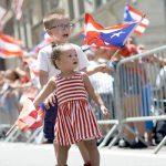 Flag-bearing babes.