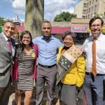 The group convened on Jerome Avenue.