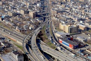 The Cross Bronx Expressway was rated the country's most congested urban roadway.