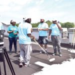 SBS seeks additional workers for roof work.