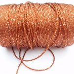 A roll of rayon yarn.