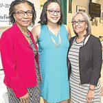 Eleanor Larrier (far left, here with team members) is the Chief Executive Officer of the Bronx Community Health Network.