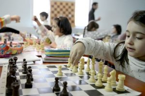 The practice of chess was introduced to schoolchildren.