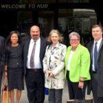 Torres-Springer met recently in D.C. with fellow housing representatives.