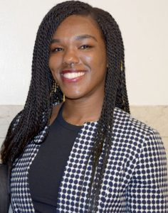 Attorney Nataliy McKinney serves as a volunteer.