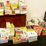 Over 3,000 books will be distributed.