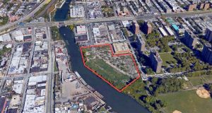 The parcel of land is just off the Bruckner Expressway. Photo: York Studios