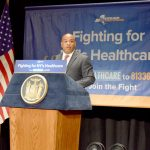 """Certain things..should not be in political games,"" said Assembly Speaker Carl Heastie."