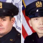 The organization has helped the families of NYPD detectives Rafael Ramos (left) and Wenjian Liu.