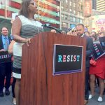 Public Advocate Letitia James.