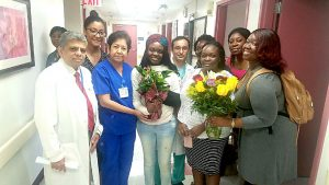 Family medicine doctor Oluwafunmike Ojewoye was discharged Monday.