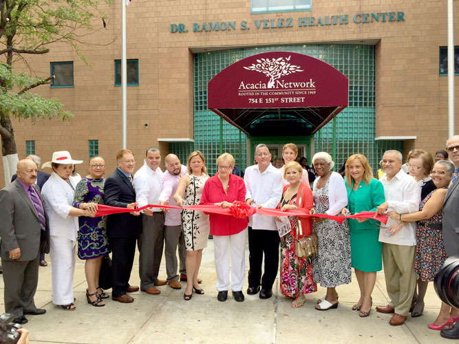 The ribbon-cutting was held in July 2016.