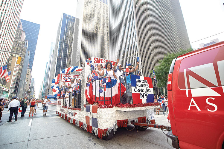 Floating with the New York State Nurses Association.
