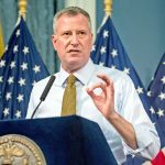 The candidate was critical of the homeless initiatives undertaken by Mayor Bill de Blasio.