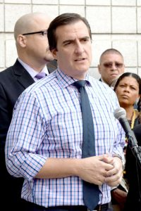 """We have a bail system that is unjust,"" said State Sen. Michael Gianaris."