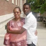 Ramarley Graham, seen here with a family member, was killed in 2012.