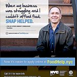 A city campaign aimed to help residents in need.