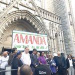 An interfaith vigil was held.