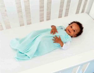 The focus is on preventing infant deaths by sharing safe sleep practices.