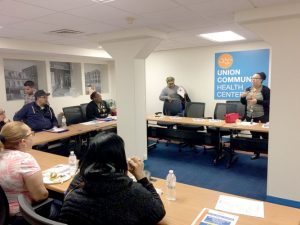 "A recent ""Lunch and Learn"" session was held on asthma prevention."