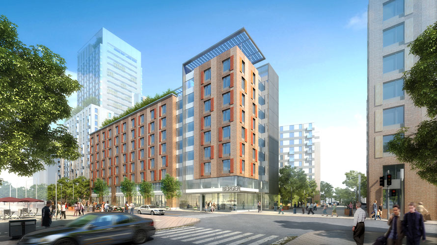 The $67 million project will create 160 affordable apartments.