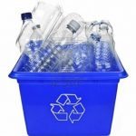 Only 23 percent  of bottles are recycled.