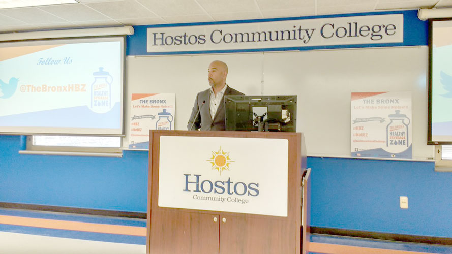 Borough President Rubén Díaz Jr. has supported UCHC programming.