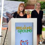 Brenda Rosen, President of Breaking Ground, said the building will also include 7,500 square-feet of community space.
