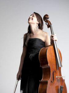 Cellist Ani Kalayjian.