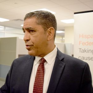 """We're fighting,"" said Rep. Adriano Espaillat."
