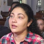 Amanda Morales-Guerra has taken sanctuary at Holyrood Church.