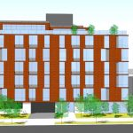 The building will house 57 units.