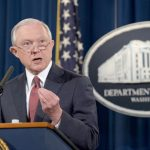 Attorney General Jeff Sessions made it official.
