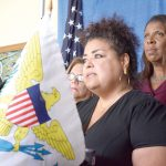 """""""Puerto Ricans are climate refugees,"""" said Elizabeth Yeampierre, Executive Director of UPROSE."""
