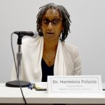 """Health doesn't just happen in a doctor's office,"" said Deputy Mayor Dr. Herminia Palacio."