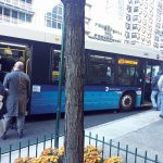 Advocates called for all-door boarding on every Metropolitan Transportation Authority (MTA)busline.