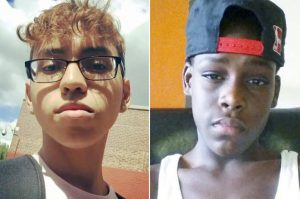 AbelCedeño (left) has been charged; Matthew McCree was killed.