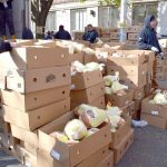 2,000 turkeys were donated.