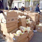 2,000 turkeys were donated.