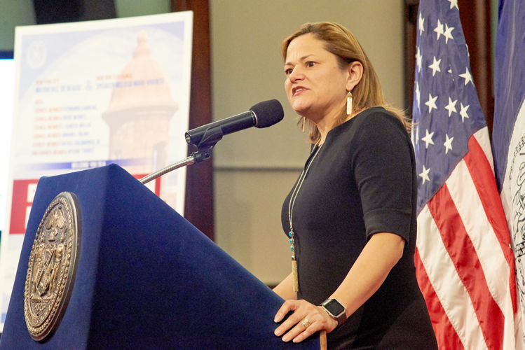 "Council Speaker Melissa Mark-Viverito said it was ""an emotional evening for many of us."""