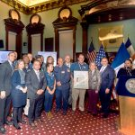 Members of the Office of Emergency Management (OEM) were honored.