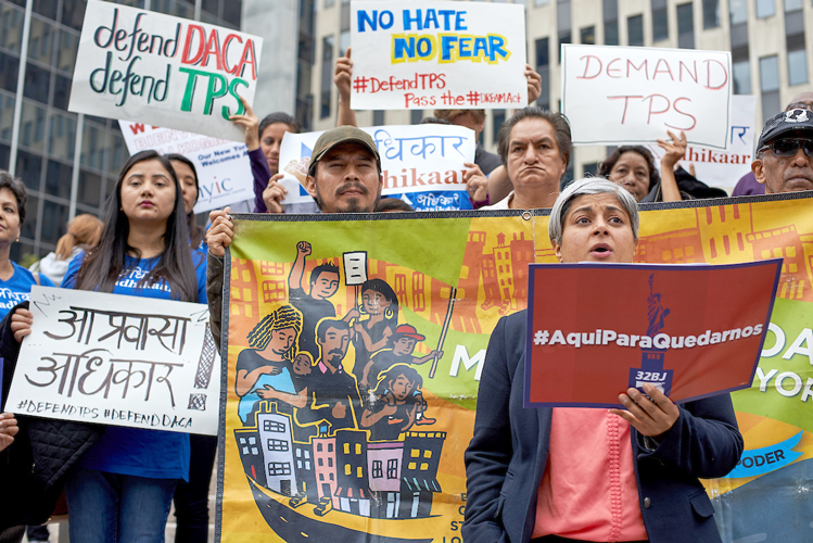 "Kavita Pawria-Sánchez said ending TPS would be a ""disaster."""