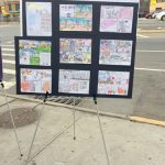 Original artwork from P.S. 42 students.