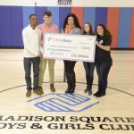 The funding supports the Madison Square Boys and Girls Club. Photo: Bill Davila
