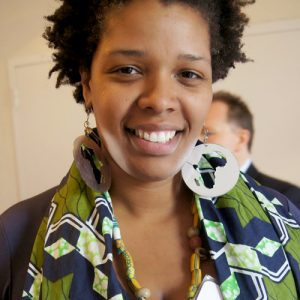 Adriane Mack represented the East Harlem Talent Network.