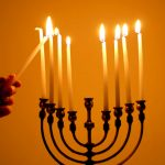 Hanukah is the Jewish celebration of light.
