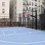 The new multi-use court.