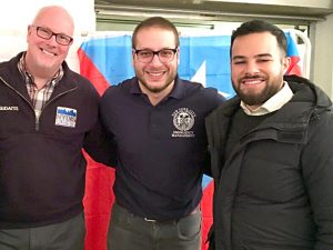 Peter Gudaitis, Executive Director of New York Disaster Interfaith Services (far left), stands with his team.